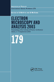 Electron Microscopy and Analysis 2003 - 1st Edition book cover