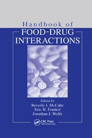 Handbook of Food-Drug Interactions - 1st Edition book cover