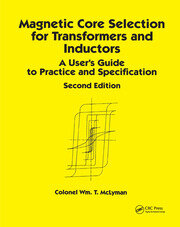 Magnetic Core Selection for Transformers and Inductors - 2nd Edition book cover