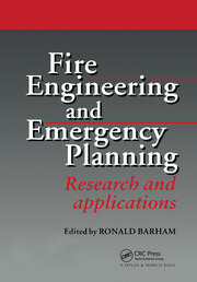 Fire Engineering and Emergency Planning - 1st Edition book cover
