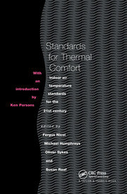 Standards for Thermal Comfort - 1st Edition book cover