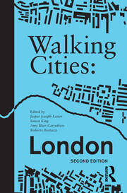 Walking Cities: London - 2nd Edition book cover