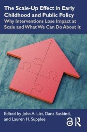 The Scale-Up Effect in Early Childhood and Public Policy - 1st Edition book cover