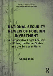 National Security Review of Foreign Investment -  1st Edition book cover