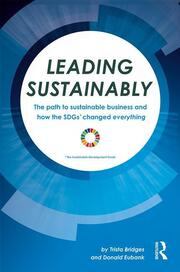 Leading Sustainably - 1st Edition book cover