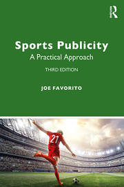 Sports Publicity -  3rd Edition book cover