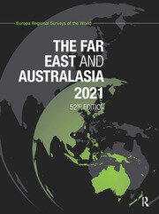 The Far East and Australasia 2021 - 52nd Edition book cover