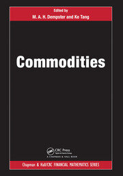 Commodities - 1st Edition book cover