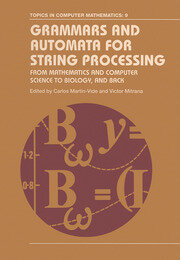 Grammars and Automata for String Processing - 1st Edition book cover