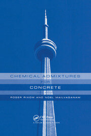 Chemical Admixtures for Concrete - 3rd Edition book cover