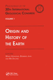 Origin and History of the Earth - 1st Edition book cover