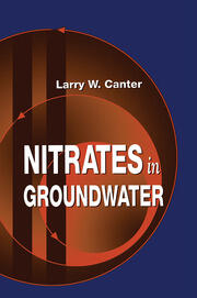 Nitrates in Groundwater - 1st Edition book cover