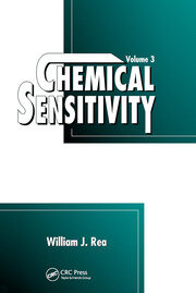 Chemical Sensitivity - 1st Edition book cover