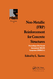 Non-Metallic (FRP) Reinforcement for Concrete Structures - 1st Edition book cover