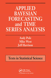 Applied Bayesian Forecasting and Time Series Analysis - 1st Edition book cover