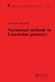 Variational Methods in Lorentzian Geometry - 1st Edition book cover