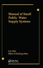 Manual of Small Public Water Supply Systems - 1st Edition book cover