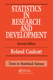 Statistics in Research and Development - 2nd Edition book cover