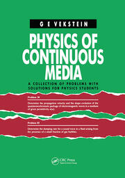 Physics of Continuous Media - 1st Edition book cover