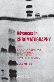 Advances in Chromatography - 1st Edition book cover