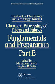 Handbook of Fiber Science and Technology: Volume 1 - 1st Edition book cover