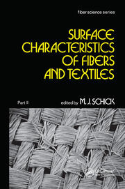 Surface Characteristics of Fibers and Textiles - 1st Edition book cover