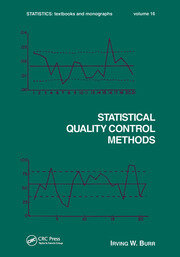 Statistical Quality Control Methods - 1st Edition book cover