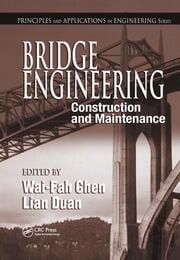 Bridge Engineering - 1st Edition book cover