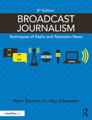 Broadcast Journalism - 8th Edition book cover
