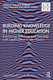 Building Knowledge in Higher Education - 1st Edition book cover