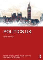 Politics UK - 10th Edition book cover