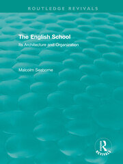 The English School (Volumes I and II) -  1st Edition book cover