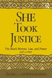 She Took Justice - 1st Edition book cover