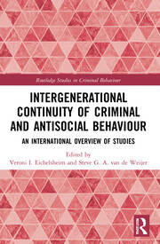 Intergenerational Continuity of Criminal and Antisocial Behaviour -  1st Edition book cover