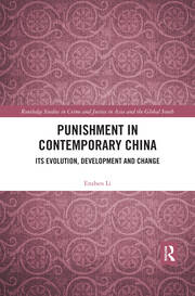 Punishment in Contemporary China -  1st Edition book cover