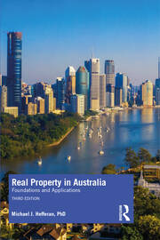 Real Property in Australia - 3rd Edition book cover