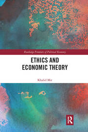 Ethics and Economic Theory -  1st Edition book cover