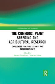 The Commons, Plant Breeding and Agricultural Research -  1st Edition book cover