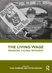 The Living Wage - 1st Edition book cover