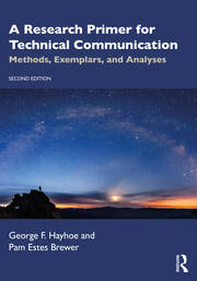 A Research Primer for Technical Communication - 2nd Edition book cover