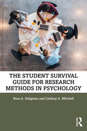 The Student Survival Guide for Research Methods in Psychology - 1st Edition book cover