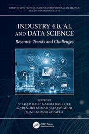 Industry 4.0, AI, and Data Science - 1st Edition book cover
