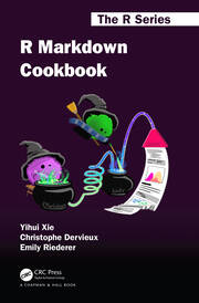 R Markdown Cookbook - 1st Edition book cover