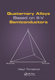 Quaternary Alloys Based on III-V Semiconductors - 1st Edition book cover