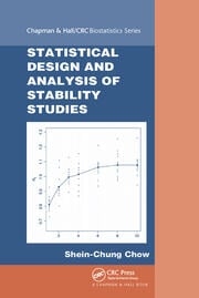 Statistical Design and Analysis of Stability Studies - 1st Edition book cover