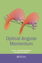 Optical Angular Momentum - 1st Edition book cover