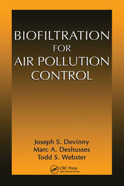 Biofiltration for Air Pollution Control - 1st Edition book cover