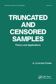 Truncated and Censored Samples - 1st Edition book cover