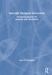 Specially Designed Instruction - 1st Edition book cover