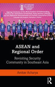 ASEAN and Regional Order - 1st Edition book cover